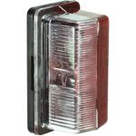 Combination Front & Rear End Outline Marker Lamp (Red/Clear)