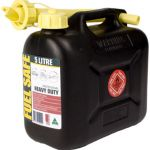 Fuel Safe Heavy Duty Plastic Fuel Can